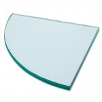 Glass Clear Corner Shelf