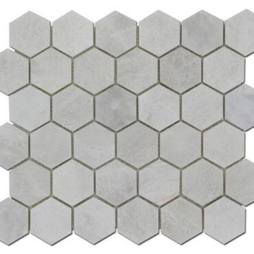2″ Iceberg Honeycomb Marble Polished