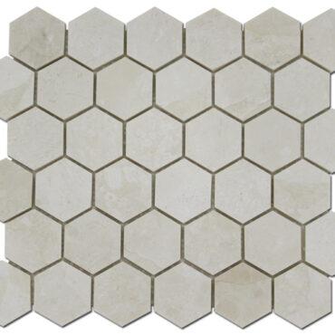 2″ Perla Honeycomb Marble Polished