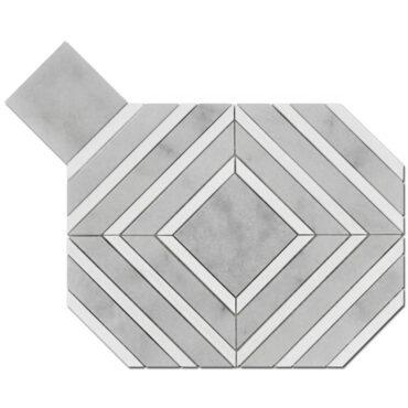 Milas White & Bianco Dolomite Maze Marble Polished