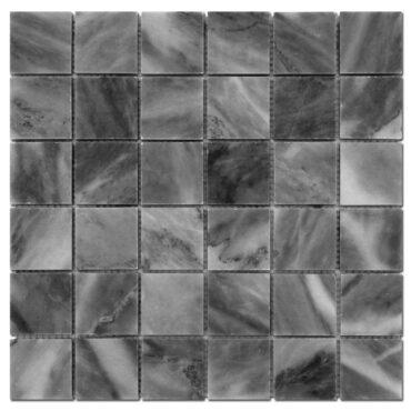 2″x2″ Bardiglio Marble Polished