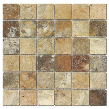2″x2″ Scabos Travertine Honed